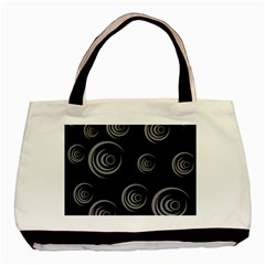 Rounder Basic Tote Bag (two Sides)