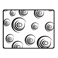 Rounder Ii Double Sided Fleece Blanket (small)