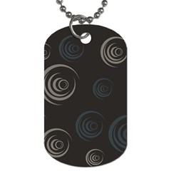 Rounder Iii Dog Tag (one Side)