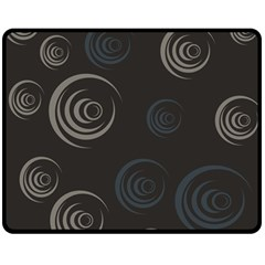 Rounder Iii Double Sided Fleece Blanket (medium)  by anthromahe
