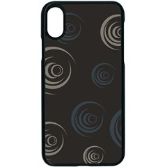 Rounder Iii Iphone Xs Seamless Case (black)