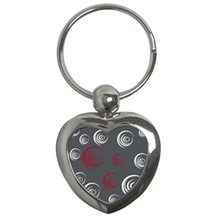 Rounder Iv Key Chain (heart)