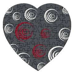 Rounder Iv Jigsaw Puzzle (heart)