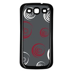 Rounder Iv Samsung Galaxy S3 Back Case (black)