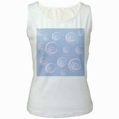 Rounder Vii Women s White Tank Top by anthromahe