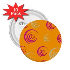 Rounder Ix 2 25  Buttons (10 Pack)