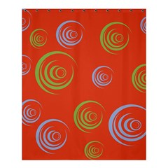 Rounder X Shower Curtain 60  X 72  (medium)  by anthromahe