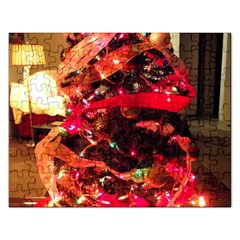 Christmas Tree  1 3 Rectangular Jigsaw Puzzl by bestdesignintheworld