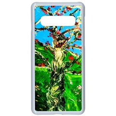 Coral Tree 2 Samsung Galaxy S10 Seamless Case(white)