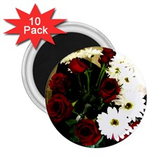 Roses 1 2 2 25  Magnets (10 Pack)  by bestdesignintheworld