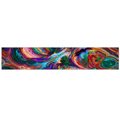 Seamless Abstract Colorful Tile Large Flano Scarf