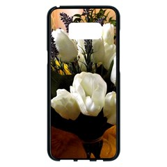 Tulips 1 3 Samsung Galaxy S8 Plus Black Seamless Case by bestdesignintheworld
