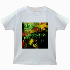Revelation 1 2 Kids White T-shirts by bestdesignintheworld
