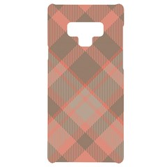 Tartan Scotland Seamless Plaid Pattern Vintage Check Color Square Geometric Texture Samsung Note 9 Black Uv Print Case