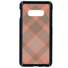 Tartan Scotland Seamless Plaid Pattern Vintage Check Color Square Geometric Texture Samsung Galaxy S10e Seamless Case (black)