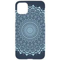 Luxury Mandala With Golden Arabesque Pattern Arabic Islamic East Style Iphone 11 Pro Max Black Uv Print Case