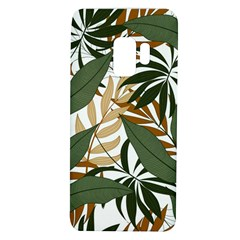 Botanical Seamless Tropical Pattern With Bright Green Yellow Plants Leaves Samsung Galaxy S9 Tpu Uv Case by Wegoenart