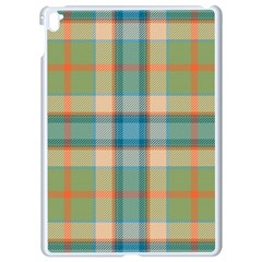 Tartan Scotland Seamless Plaid Pattern Vintage Check Color Square Geometric Texture Apple Ipad Pro 9 7   White Seamless Case by Wegoenart