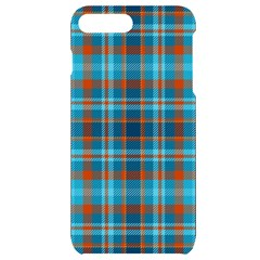 Tartan Scotland Seamless Plaid Pattern Vintage Check Color Square Geometric Texture Iphone 7/8 Plus Black Uv Print Case