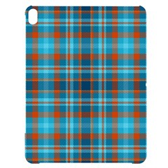 Tartan Scotland Seamless Plaid Pattern Vintage Check Color Square Geometric Texture Apple Ipad Pro 12 9   Black Uv Print Case