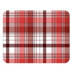 Red Abstract Check Textile Seamless Pattern Double Sided Flano Blanket (Large)  80 x60  Blanket Front