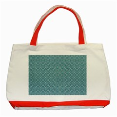 Df Tadeo Di Palma Classic Tote Bag (red) by deformigo