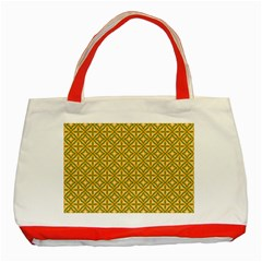 Df Latiya Classic Tote Bag (red) by deformigo
