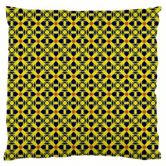 Df Sanhita Manjul Large Flano Cushion Case (one Side) by deformigo
