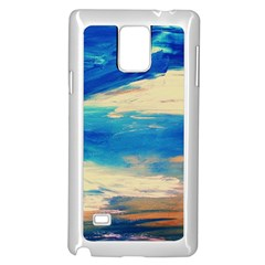 Skydiving 1 1 Samsung Galaxy Note 4 Case (white) by bestdesignintheworld