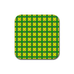 Zembria Rubber Square Coaster (4 Pack)  by deformigo