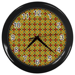 Sipirra Wall Clock (black) by deformigo