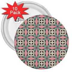 Noronkey 3  Buttons (10 Pack)  by deformigo