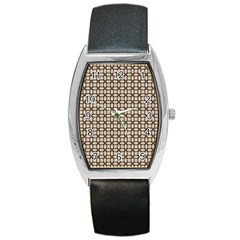 Esperanto Barrel Style Metal Watch by deformigo