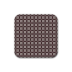 Talami Rubber Square Coaster (4 Pack)  by deformigo