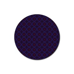Keyudo Rubber Round Coaster (4 Pack)  by deformigo