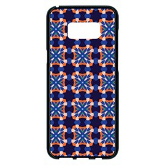 Lakatamia Samsung Galaxy S8 Plus Black Seamless Case by deformigo