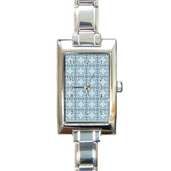 Deryneia Rectangle Italian Charm Watch by deformigo
