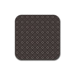 Dorris Rubber Square Coaster (4 Pack)  by deformigo