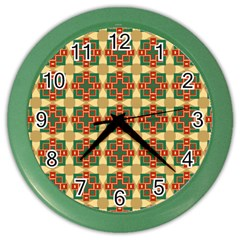 Sorobon Color Wall Clock by deformigo