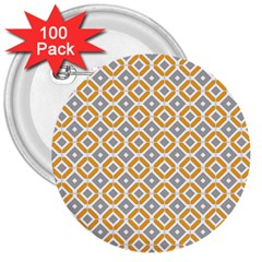 Potami 3  Buttons (100 Pack)