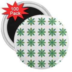 Reign Of Nature 3  Magnets (100 Pack) by deformigo