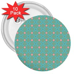 Baricetto 3  Buttons (10 Pack)  by deformigo