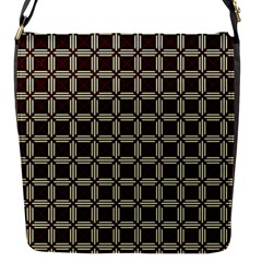Pertamini Flap Closure Messenger Bag (s) by deformigo