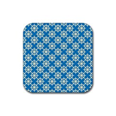 Carriacou Rubber Square Coaster (4 Pack)  by deformigo