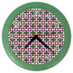 Campitello Color Wall Clock by deformigo