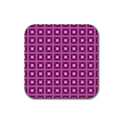 Roberto Cavallieri Rubber Square Coaster (4 Pack)  by deformigo