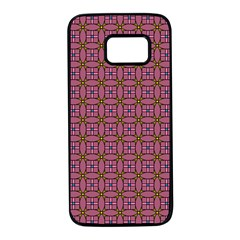 Wisteria Samsung Galaxy S7 Black Seamless Case by deformigo
