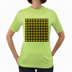 Tomis Women s Green T-shirt by deformigo
