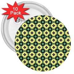 Thysiani 3  Buttons (10 Pack)  by deformigo