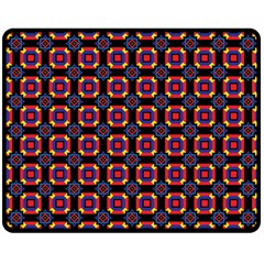 Irrigon Double Sided Fleece Blanket (medium)  by deformigo